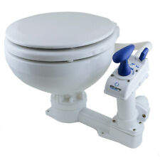 Albin Pump Marine Toilette manuell Compact Low WC Klo Boot Wohnwagen Camping
