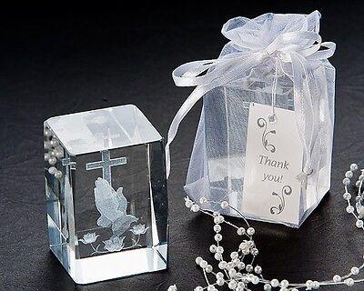 48 Little Angel Cherub Figurine Baptism Baby Shower Wedding Favor in Organza Bag