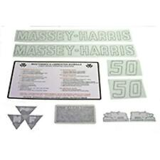 R4309 Complete Vinyl Decal Set Fits Massey Harris Mh Tractor 50