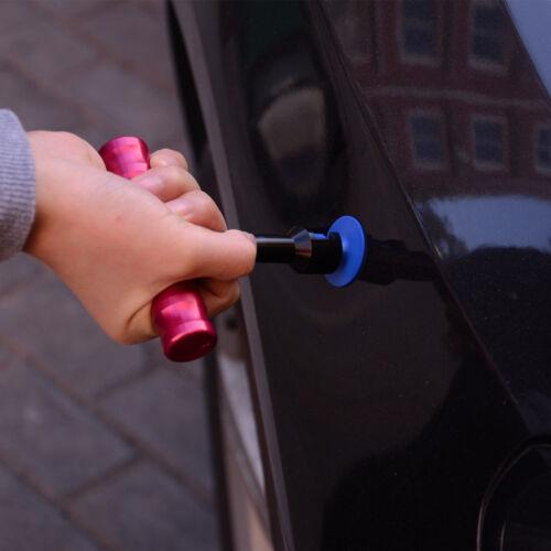 Martillo de cuerpo de auto use herramientas de eliminación de reparación de abolladuras Pit con 18 un Extractor pestañas