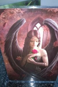 Anne stokes greetings card with envelope angel rose black wings image is loading anne stokes greetings card with envelope angel rose m4hsunfo