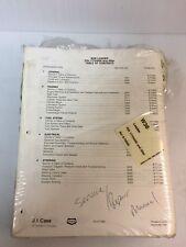Case W36 Loader Articulated Service Manual Repair Shop Book Technical