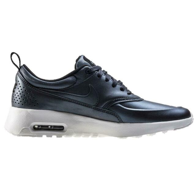 WMNS Nike Air Max Thea SE Metallic Dark Grey Womens Running Shoes 861674 002 7
