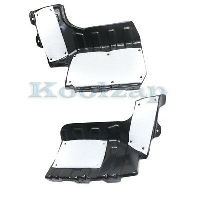 Engine Splash Shield Under Cover Guard Fits Altima /& Maxima Left Right SET PAIR