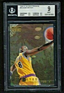 1996-97 Skybox Premium #55 Kobe Bryant Lakers RC Rookie HOF BGS Mint
