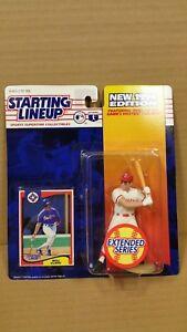 STARTING-LINEUP-SLU-MLB-1994-SERIES-WILL-CLARKE-TEXAS-RANGERS-ACTUAL-PHOTOS