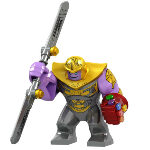 Marvel Avengers Superheroe Thanos Gauntlet Mini Figures Building Blocks Toy Gift
