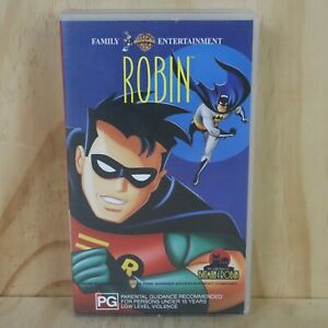VHS-Movie-Robin-The-Adventures-of-Batman-amp-Robin-PAL-Box-Cassette-Tape