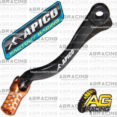Apico Black Orange Gear Pedal Lever Shift For KTM SX//F 450 2007 Motocross Enduro