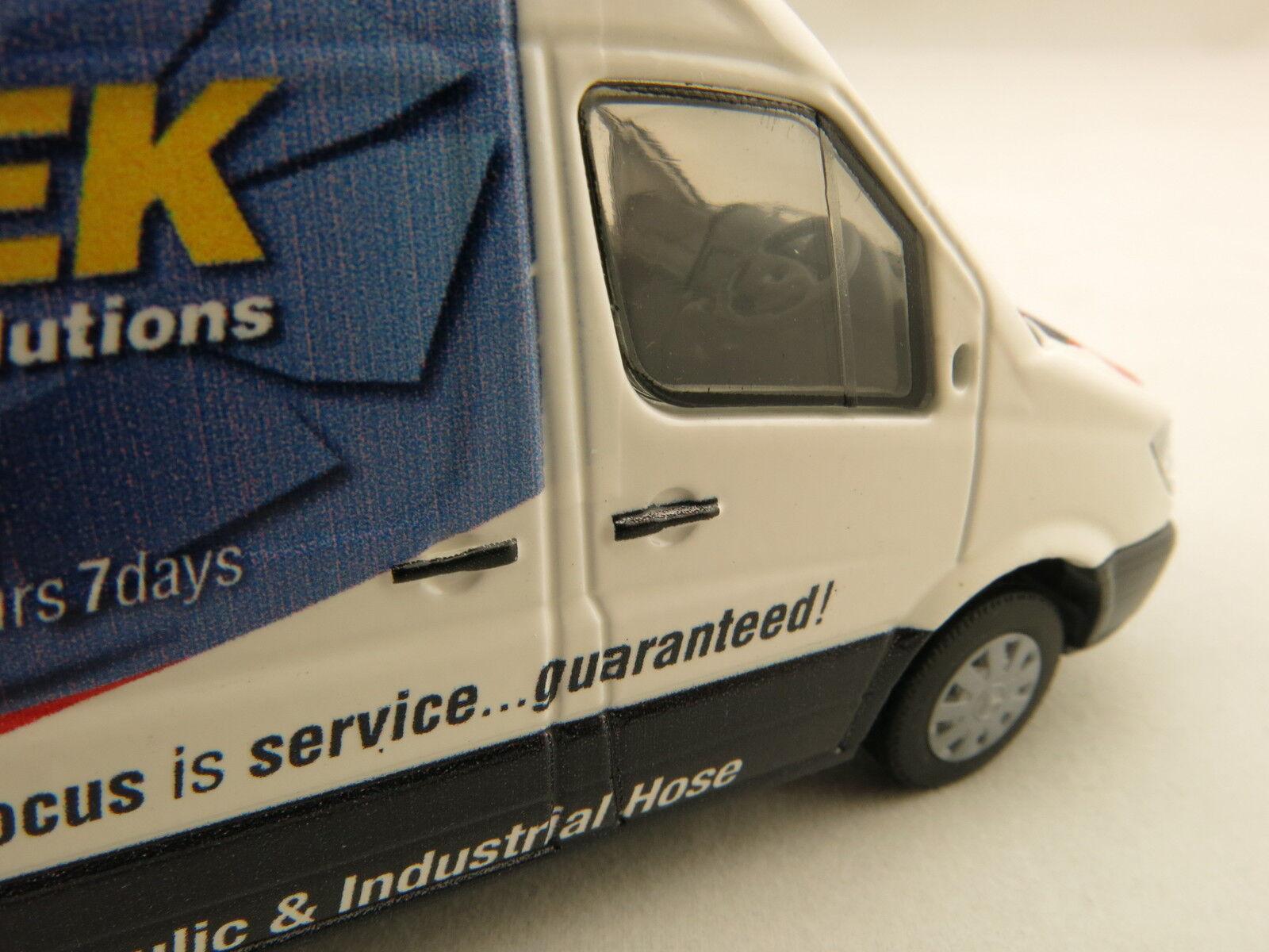 Conrad Australian Mercedes Benz Sprinter Service Van Pirtek Fluids 1610-11 1610-11 1610-11 1 50 c8450f