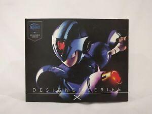 Figurine d'action Megaman X de la série Designer de Truforce Collectibles 813955020012