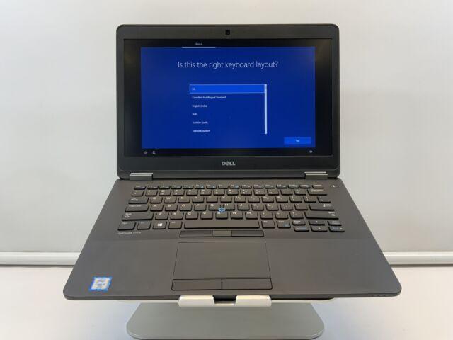 """DELL LATITUDE E7470 14"""" i5-6300u 256GB SSD 8GB RAM Win 10 Pro"""