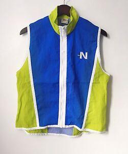 bafb6c4cffc8 vintage womens nike white tag windbreaker vest size medium deadstock ...