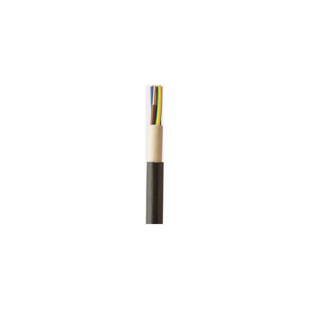 NYY-J 5x2,5mm² Starkstrom Erdkabel schwarz 25 Meter Ring   Wirtschaft