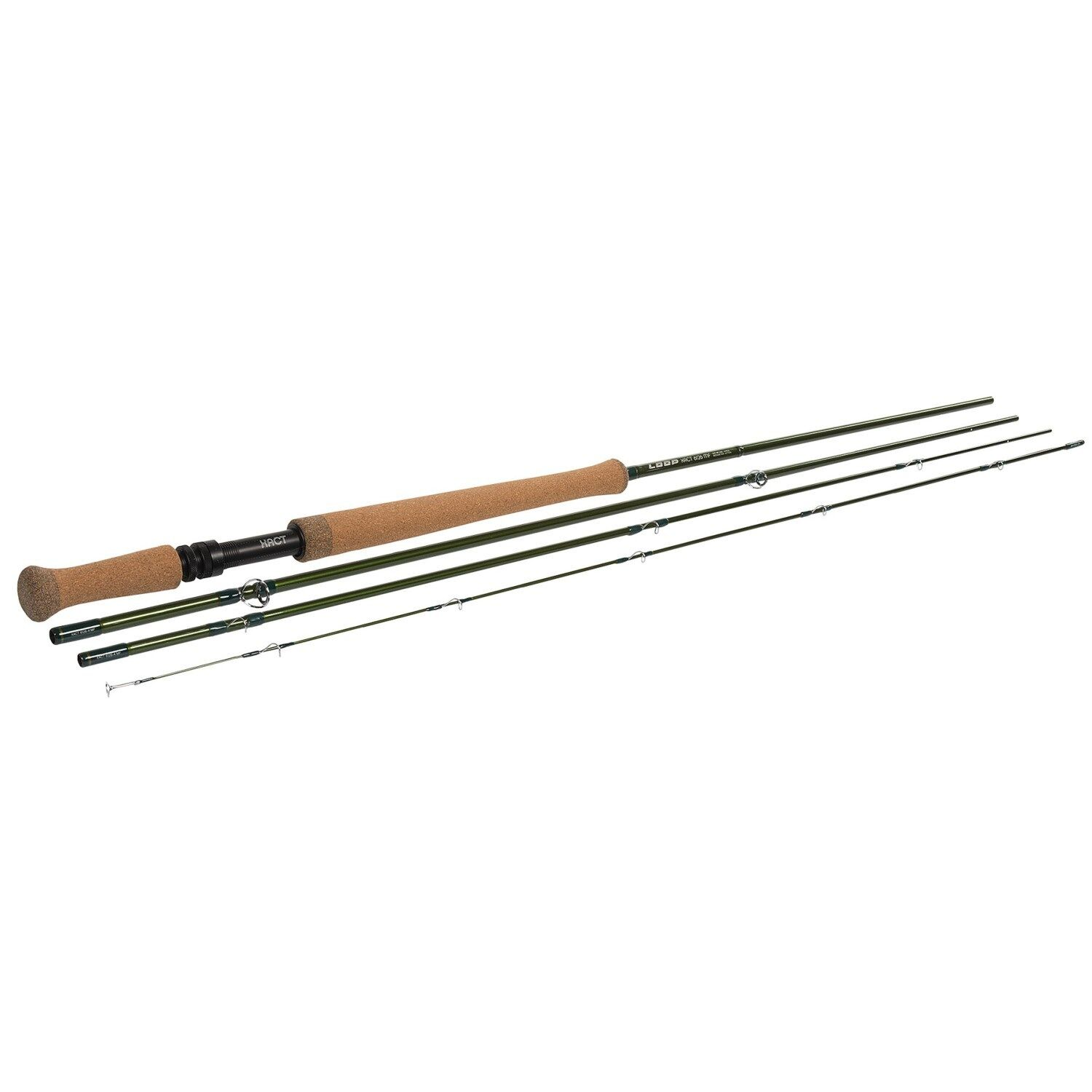 NEW Loop Xact Medium-Fast Fly Rod 4-Piece Double-Hand 12.6FT-8WT XACT2 8126-4 MF