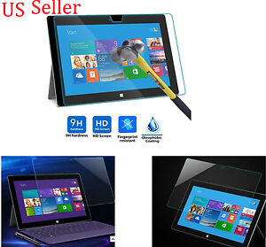 9H-Genuine-Tempered-Glass-Film-For-Microsoft-Surface-Pro-3-Screen-Protector
