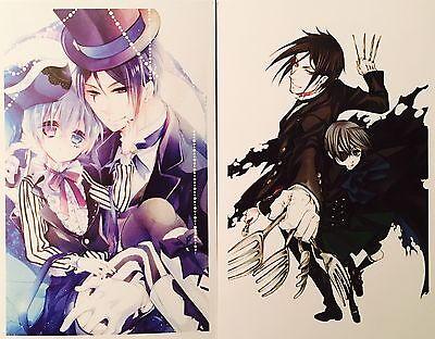 Kuroshitsuji Black Butler-CIEL SEBASTIAN ALOIS CLAUDE Postcard Photo Card Set #U