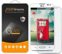 3x Supershieldz Lg Optimus L70 Tempered Glass Screen Protector Saver