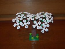 Lego Custom Cherry Tree Plant Forest Grass City Layout Train Car My Own 9V RC
