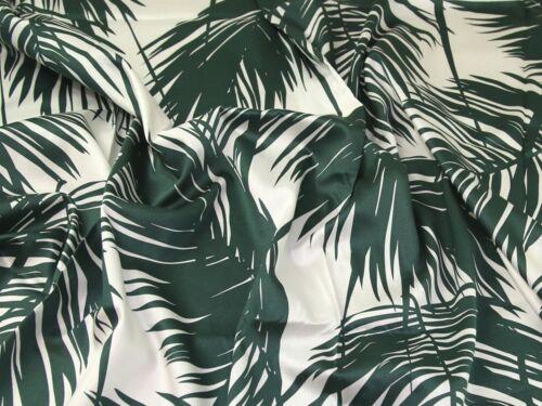 Vestido De Algodón Estampado Hojas tropical césped tela PH-5919-M
