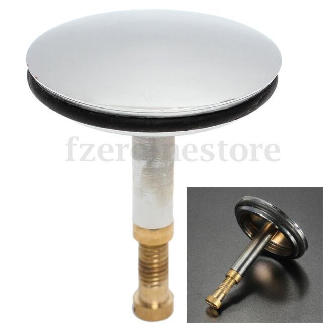 Replacement Adjustable Bath Basin Kitchen Sink Pop up Plug Chrome ...