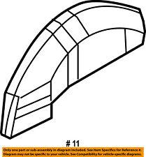 GM OEM Quarter Panel-Rear Fender Wheelhouse Wheel Well Liner Left 88980819
