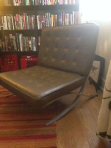 Superb Image Is Loading 1950s Vintage Knoll Style Barcelona Chair