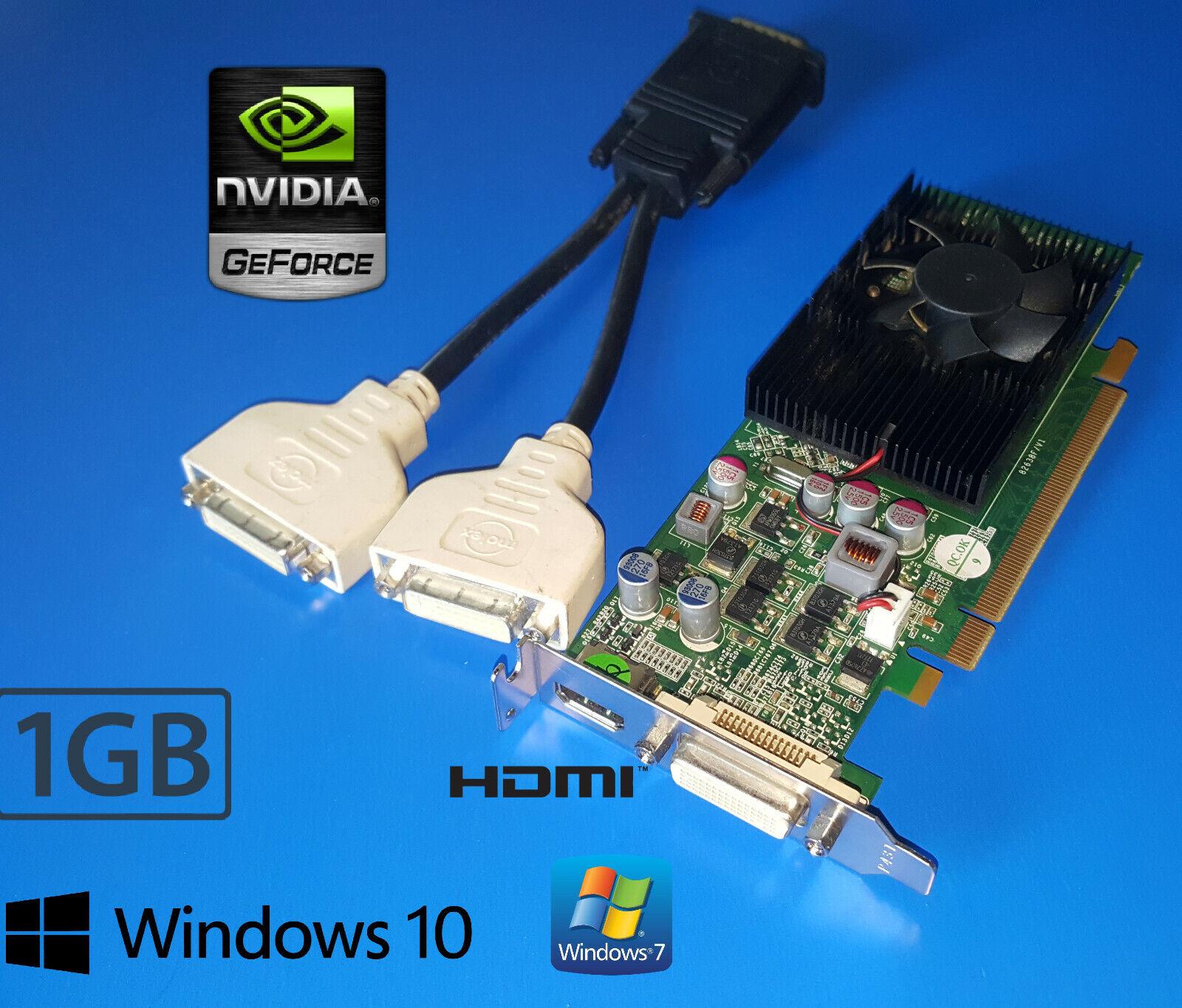 Dell Optiplex 740 745 755 760 780 790 Desktop Low Profile 1GB HDMI Video Card