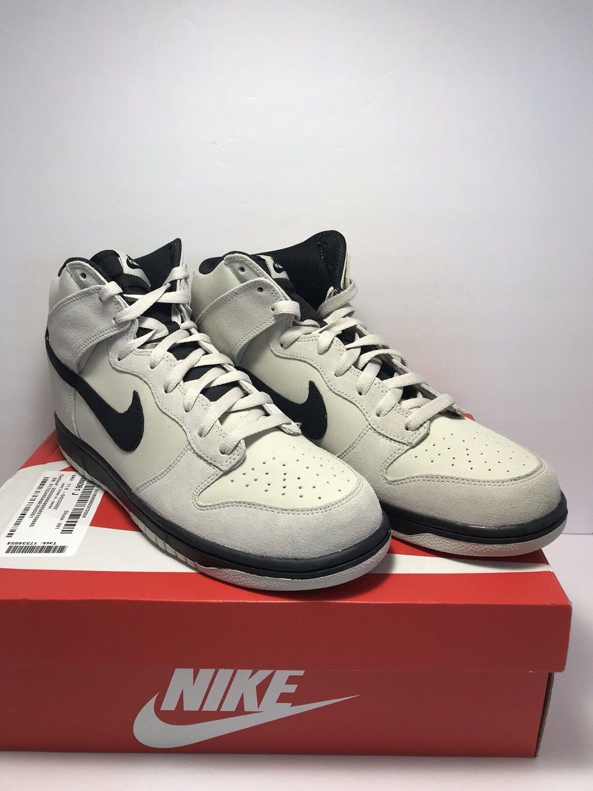Nike Mens Size 11 Dunk Hi AF1 Light Bone Retro Basketball Athletic Sneaker shoes