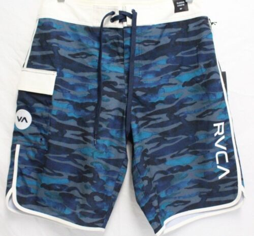 *NEW* Rvca Men/'s Eastern Trunk Swim Shorts