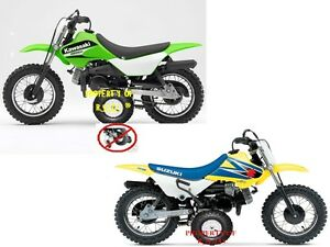 1 SET KAWASAKI KDX50 KDX 50 SUZUKI JR 50 JR50 TRAINING WHEELS. FITS ...