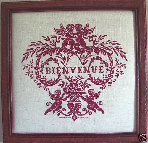 2004 réf GRILLE POINT de CROIX MARQUOIR BIENVENUE