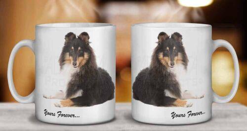 Shetland Sheepdog /'Yours Forever/' Coffee//Tea Mug Gift Idea AD-SE40MG
