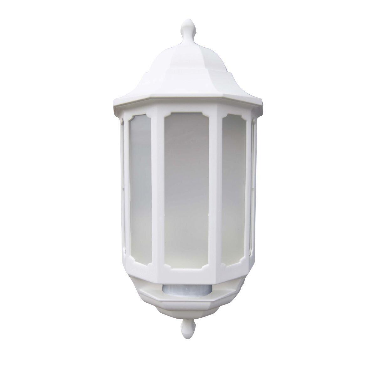 ASD LED Hi-lo media Linterna al aire libre luz de parojo con sensor de movimiento PIR Hilo-blancoo