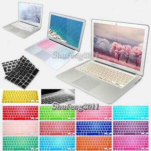 Silicon-Keyboard-Protector-Cover-For-11-12-13-034-15-034-Apple-MacBook-Air-Pro-retina