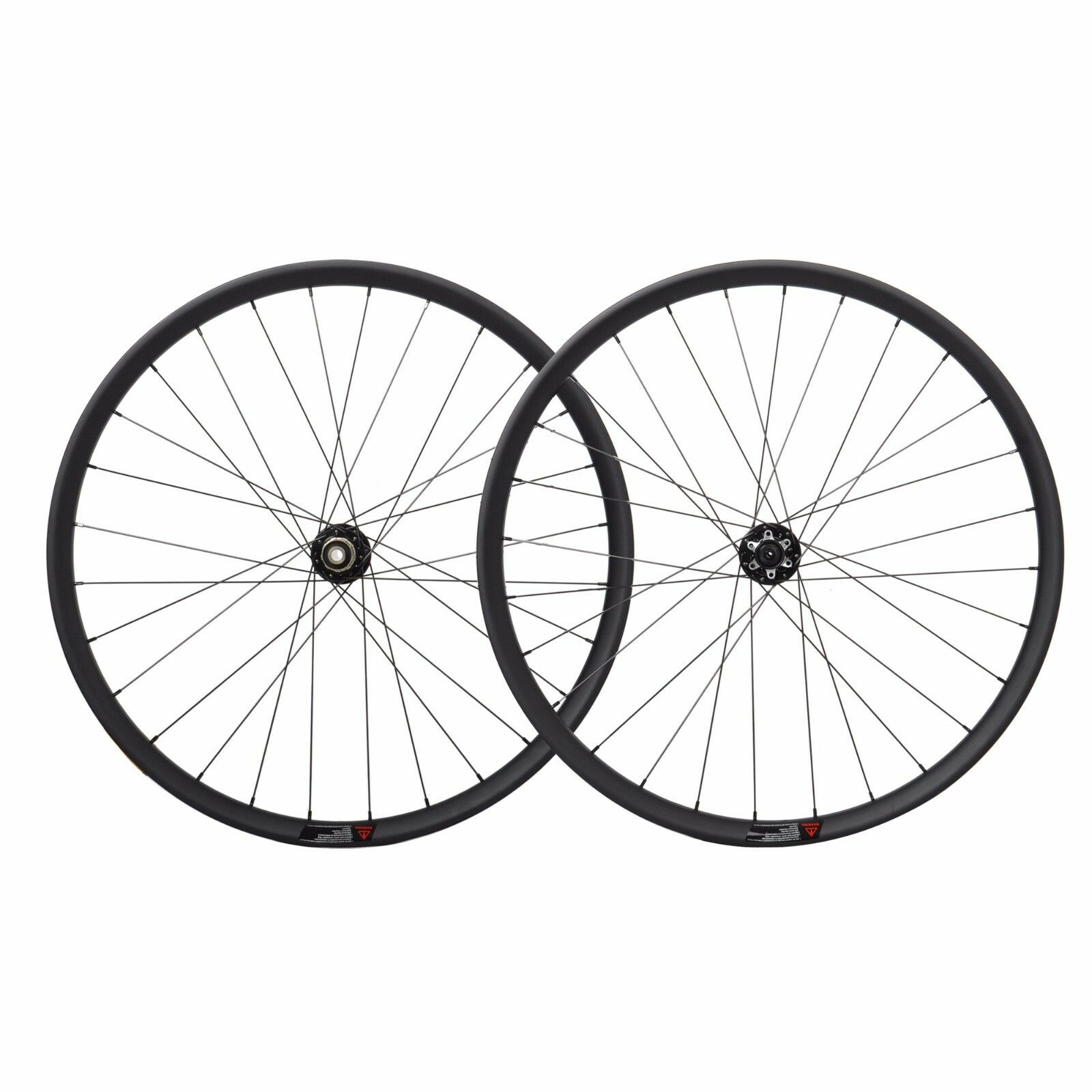 35mm 29er Carbon MTB Wheelset Novatec UD Matt Clincher Disc brake Tubeless Rim