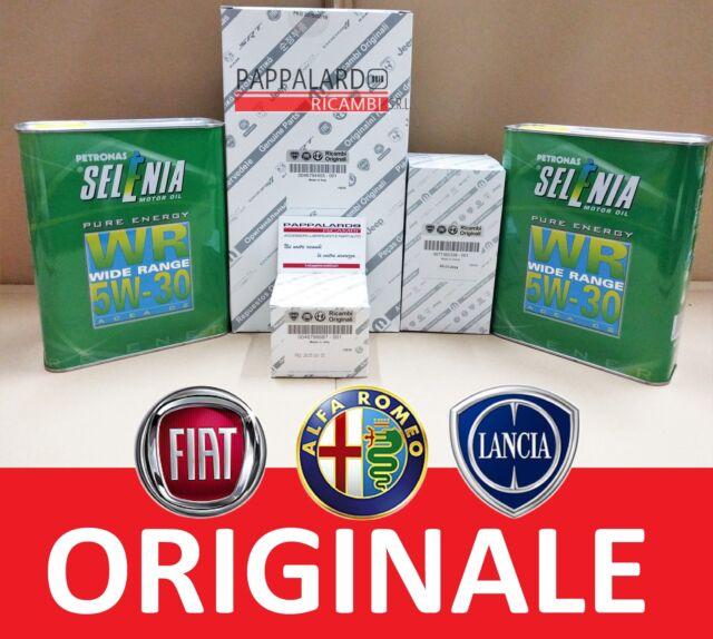 KIT FILTRI TAGLIANDO ORIGINALI + OLIO SELENIA FIAT PANDA 4X4 1.3 MULTIJET 51 KW