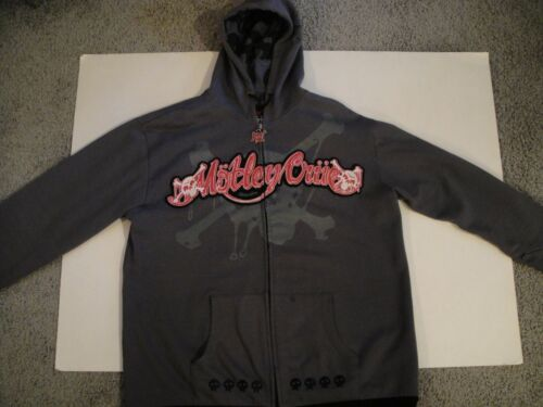 MOTLEY CRUE LIMITED EDITION DR FEELGOOD GRAY HOODI