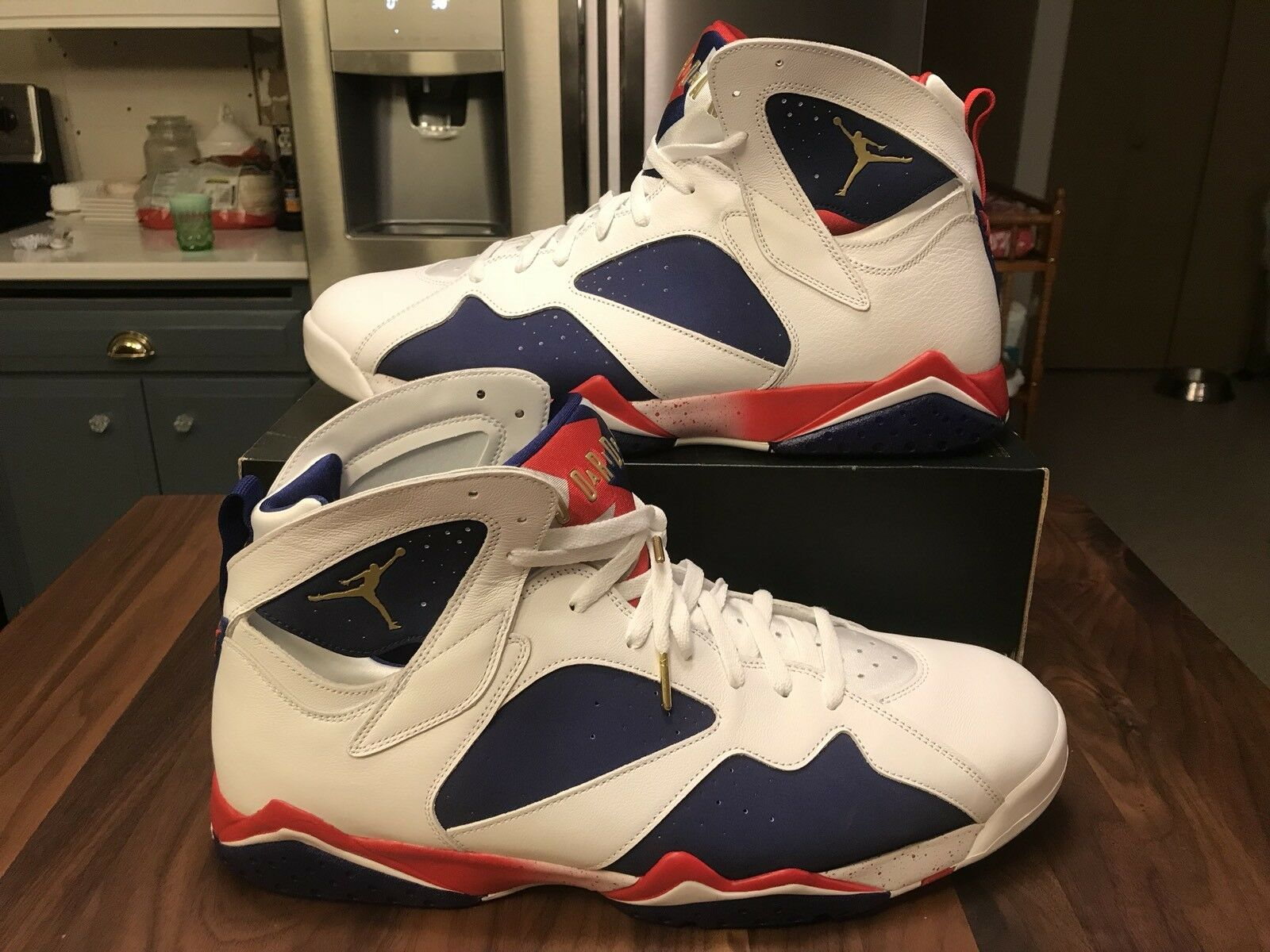 540e478a0fbe9 Nike Air Jordan 7 Retro Tinker Alternate Olympic Size 12 NWB 304775 ...