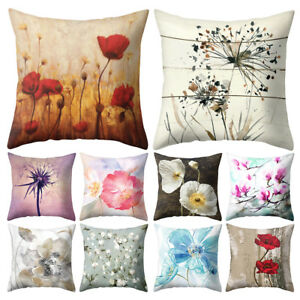 Admirable Details About Gt Flower Dandelion Lotus Throw Pillow Case Cushion Cover Sofa Bed Cafe Decor P Andrewgaddart Wooden Chair Designs For Living Room Andrewgaddartcom