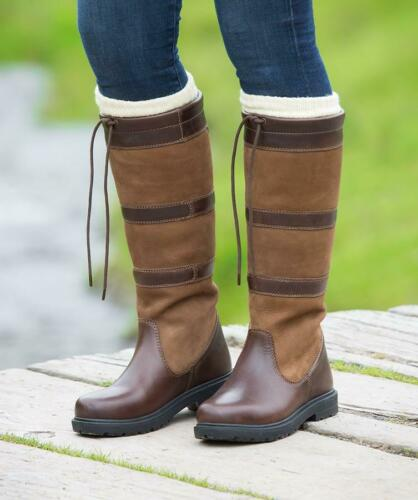 Shires Moretta Teo Long Country Boots In Brown
