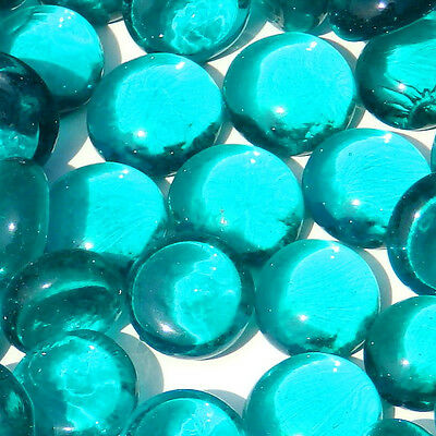 Mini Glass Pebbles / Stones / Gems / Nuggets Rounded Mosaic tiles aprox 10-15mm