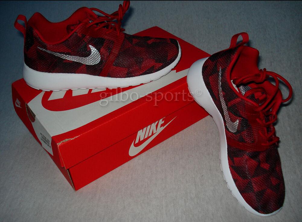 Nike Roshe one Flight Weight GS Red Black Gr 36 Neu 705485 600 Rosherun rot