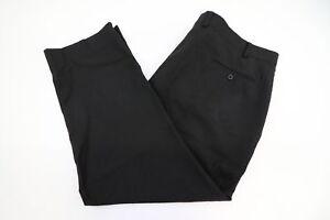 Michael-Kors-Black-Wool-Mens-Dress-Pants-Szie-44-x-27-MISLABELED-44x30