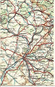 61-28-Nogent-Rotrou-Remalard-Longny-1924-carte-lin-partie-Authon-Thiron-Conde