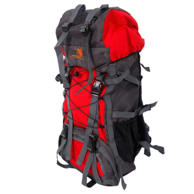 60l Outdoor Shoulder Backpack Climbing Camping Hiking Bag Internal