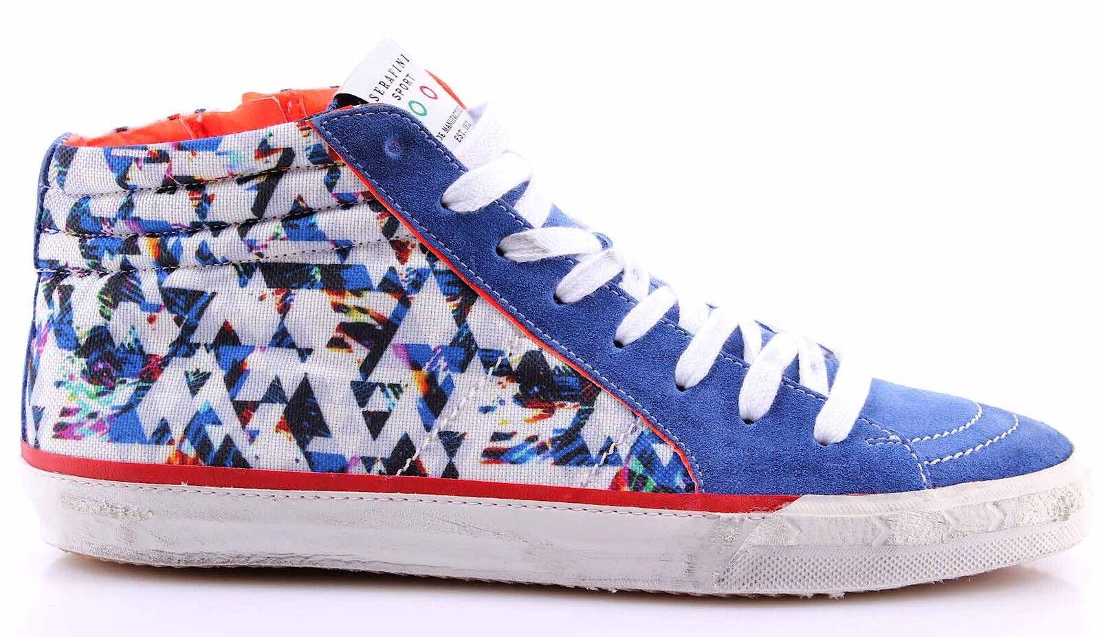 Herren Schuhe Sneakers SERAFINI Sport Caracas 3D Blau Blau Mehrfarbig Multicolor