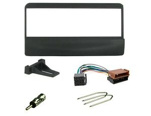 Ford Escort 1993 to 2001  Black Car Radio Stereo Facia Fascia Panel /& Aerial Kit