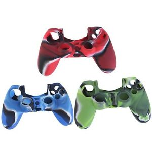 Controller-Soft-Silicone-Cover-Case-Sony-Playstation-4-Protection-Skin-0120