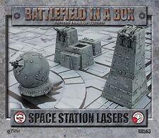 Galeforce Nine Space Station lasers | X-Wing, Firestorm armada, battlefl. Gothic